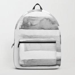 Watercolor gray Backpack