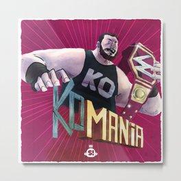Champions: KO-Mania Metal Print