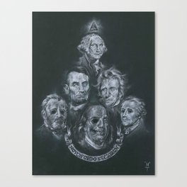 Dead Presidents Canvas Print