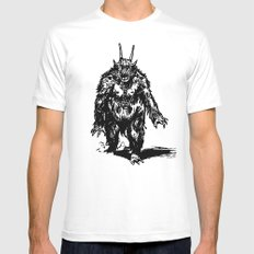 La Créature/The Creature White Mens Fitted Tee MEDIUM