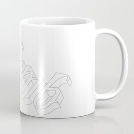 Numb Grey Coffee Mug