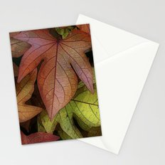 leaves at rest Stationery Cards