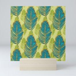 Large Palms - green Mini Art Print