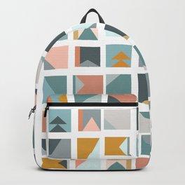 Mini Quilt Blocks Backpack