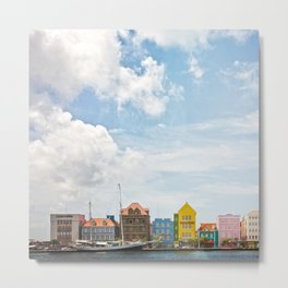 Colorful houses Willemstad Metal Print