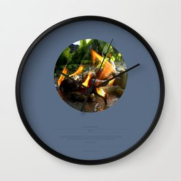 The Trickle Down (This Burning World 4) Wall Clock