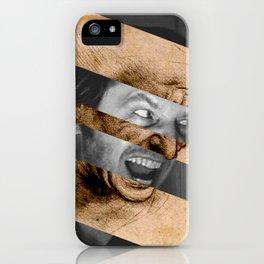 Leonardo da Vinci's Head for The Battle of Anghiari & Jack Nicholson Canvas iPhone Case