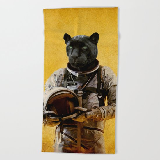 Space Jag Beach Towel