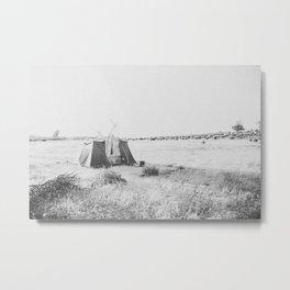 CAMP Metal Print