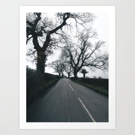 british country road Art Print