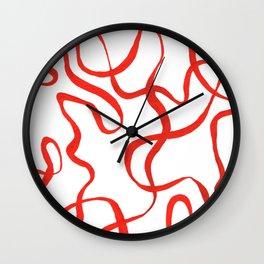 Ribbon Olympics Wall Clock
