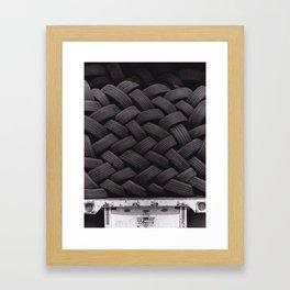 Tires Framed Art Print