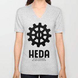 Heda (Commander) Unisex V-Neck