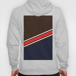 Dual tone Wood and flat color Hoody