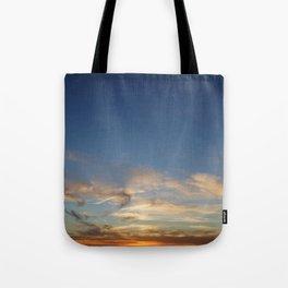 Orbs at Sunset Tote Bag