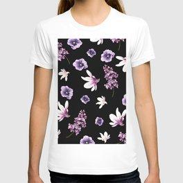 floral art T-shirt