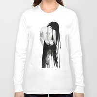 noir Long Sleeve T-shirts featuring Noir by Ryan Blanchar