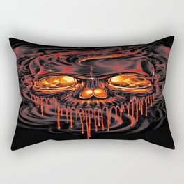 Bloody Red Skeletons Rectangular Pillow