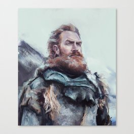 We are kissed by fire. Canvas Print