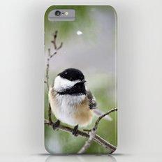 Chickadee Bird iPhone 6 Plus Slim Case