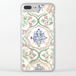 Tiles of Tunisia Clear iPhone Case