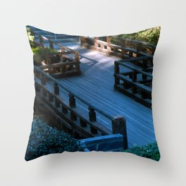 Spirit Bridge Throw Pillow