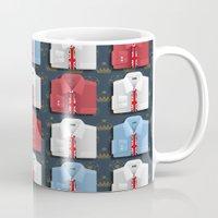 british Mugs featuring British Ties by Matt Andrews