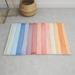 Painted stripes Rug