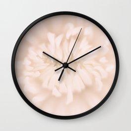 Kiku - 菊 - Chrysanthemum Wall Clock