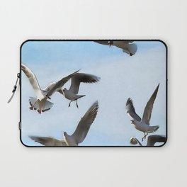Black Headed Gulls Of The Bosphorus Art  Laptop Sleeve