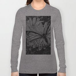 Monarch over Aster Long Sleeve T-shirt