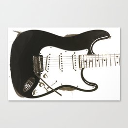 Stratocaster Guitar Canvas Print