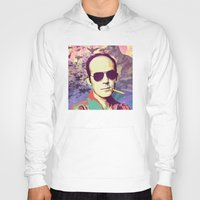 hunter s thompson Hoodies featuring Hunter S. Thompson by victorygarlic - Niki