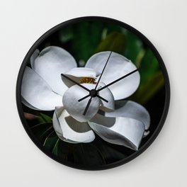 Life In Blossom Wall Clock