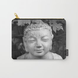 Buddha back and white Carry-All Pouch