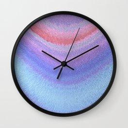 pastel bow Wall Clock