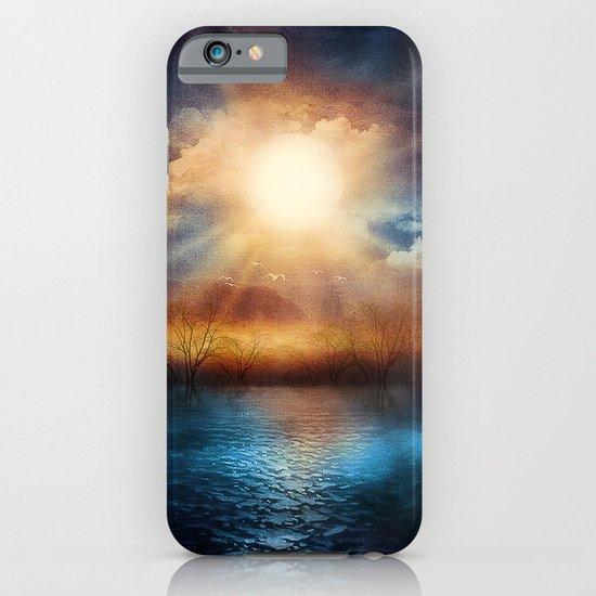 When the sun speaks iPhone & iPod Case