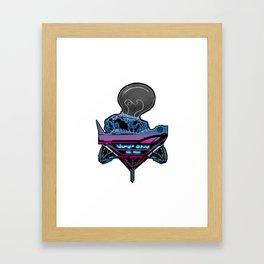 Futuristic DJ Framed Art Print