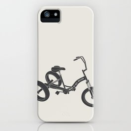 tricycle 02 iPhone Case