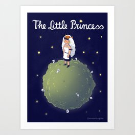 The Little Princess Art Print