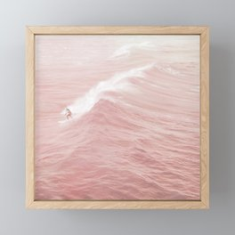 Catch a Wave Framed Mini Art Print