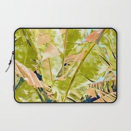 Blush Banana Tree Laptop Sleeve