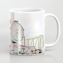 Rusting Steam Train Coffee Mug