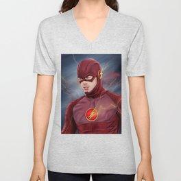 Flash Unisex V-Neck