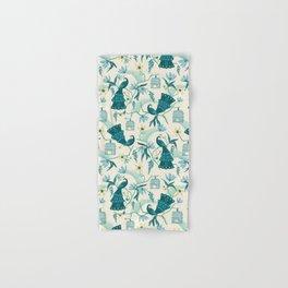 Aviary - Cream Hand & Bath Towel