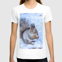 squirrel T-shirts featuring Squirrel  by Svetlana Korneliuk