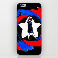 peggy carter iPhone & iPod Skins featuring Carter. Agent Carter. by Lydia Joy Palmer