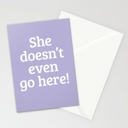 Mean Girls #14 – Go here Stationery Cards