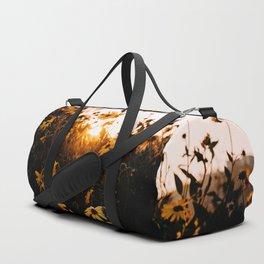 California Sunshine and Flowers Duffle Bag