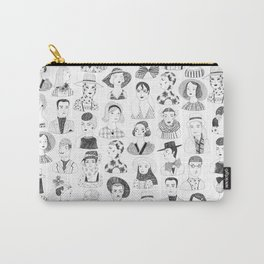 Stylish Heads Carry-All Pouch